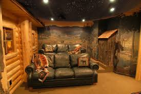 Log Home Interior Designs Log Home Theater Traditional Home Theater Detroit By Foran