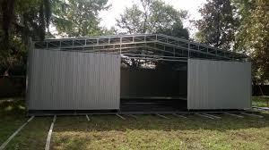 capannone in pvc usato box garage capannoni in pvc con capannoni mobili in pvc usati e