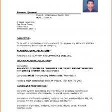 Download Resume Format Amp Write by Cover Letter Resume Format Template Download Resume Format