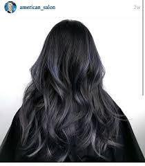 how to fade highlights in hair dark brown hairs beautiful dark hair to subtle metallic purple fade hair inspo