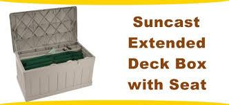 deck storage box reviews