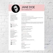 artist resume template hair stylist makeup artist resume template document