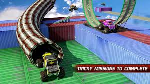 monster trucks nitro 2 download monster truck stunt impossible tracks by evolution game android