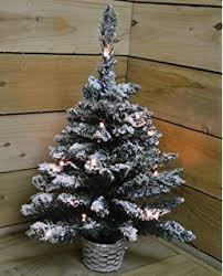 Pre Lit Mini Christmas Tree - everyday collection artificial pre lit mini christmas tree 2ft