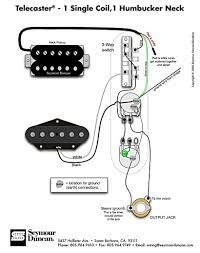 tele wiring diagram 1 single coil 1 neck humbucker my other