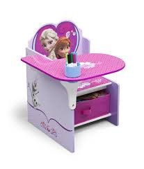 amazon com delta children chair desk with storage bin disney