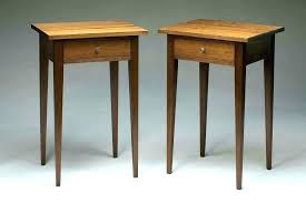 shaker end table plans bedside table plans bedside tables plans shaker end table plans