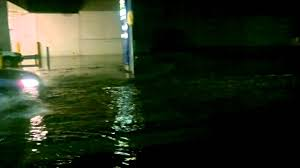 flooding at knox city shopping centre wantirna south last night