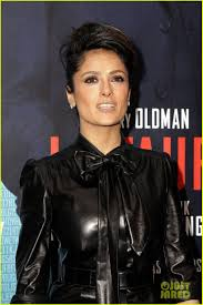 salma hayek tinker tailor paris premiere 04 leder pinterest