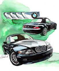 bmw car posters bmw z3 posters america
