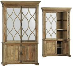 wood and glass cabinet large glass and wood cabinet vitrine armoires large cabinets