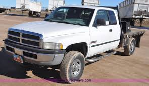 dodge ram 2500 trucks for sale 1999 dodge ram 2500 cab flatbed truck item g71