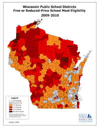 Map Of Madison Wisconsin by Changes In Free And Reduced Meal Eligibility 2003 2014