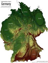 Topographic Map Of The World by Bundestagswahl 2013 Electoral Maps Of Germany Views Of The World