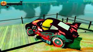 monster trucks lightning mcqueen spiderman baby games minions u0026 halloween disney cars vampire lightning