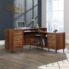 I Shaped Desk Clifford Place L Shaped Desk 421120 Sauder
