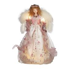 shop christmas central porcelain victorian angel christmas tree