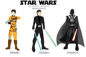 Anakin Skywalker Halloween Costume Star Wars Bright Republic Anakin Skywalker Neilhammond