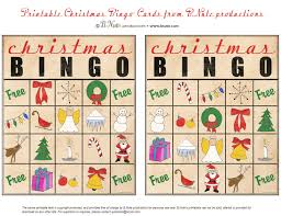 free printable christmas cards with own photo bnute productions free printable christmas bingo cards