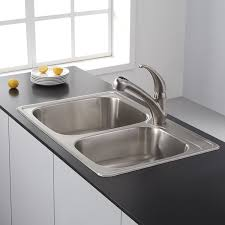 Kraus KPF Single Lever Stainless Steel Pull Out Kitchen - Faucet kitchen sink