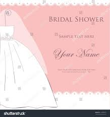 pink invitation card bridal shower wedding invitation card bride stock vector 119908375