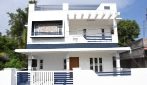 2500 Sq Ft House by Aluva 4 5 Cents Plot And 1800 Sq Ft Medium Budget House For Sale