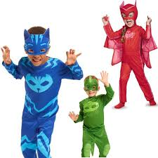 aliexpress buy cosplay costume kids birthday pj mask skin