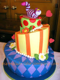alice in wonderland cheshire cat wedding cake on cake central