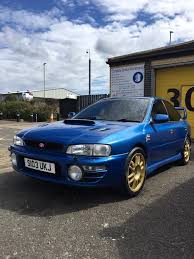 raised subaru impreza rare limited edition terzo subaru impreza turbo in jarrow tyne