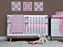Aqua And Pink Crib Bedding by Modern Pink And Gray Crib Bedding Nursery Design Pink And Gray