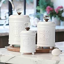 white kitchen canisters sets kitchen canister sets interesting artistic white gold kitchen
