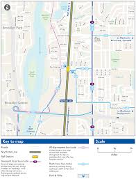 Valley Metro Light Rail Map by Fridley Station Metro Transit