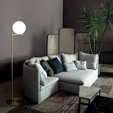 ic f2 brass floor lamp by flos lights co uk