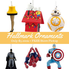 special hallmark ornaments only 5 99 free store