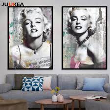 movie poster marilyn monroe canvas art printing painting