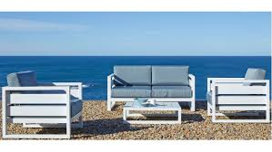 2 Seater Outdoor Sofa Retreat 4 Piece 2 Seater Outdoor Lounge Package Domayne