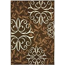 Chocolate Brown Area Rugs Better Homes And Gardens Iron Fleur Area Rug
