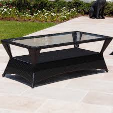 100 Wicker Patio Coffee Table - coffee table outstanding polywood club black patio coffee table