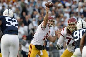 Quenton Nelson Bench Press Nfl Draft Usc Quarterback Sam Darnold Remains At Head Of Class