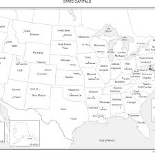 map of the united states quiz with capitals united states map with state names and capitals quiz united states