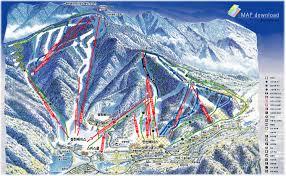 New Mexico Ski Resorts Map by Muju Piste Map Muju Ski Resort South Korea