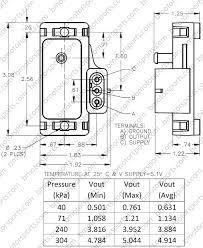 gm map sensor home shop sensors pressure sensors delphi gm 3 bar style