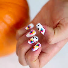 halloween nail art ideas from latina bloggers popsugar latina