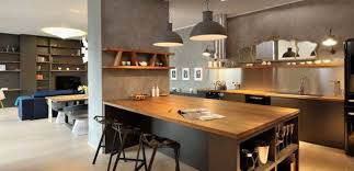 cuisine ouverte cuisine ouverte ilot central 12 idee deco lzzy co bar newsindo co