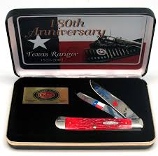 case xx 1805h anniversary texas rangers commemorative knife case