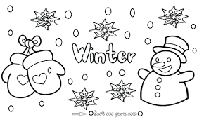 building a snowman colouring page winter pages for kids