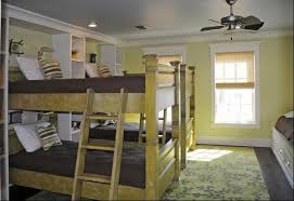 Bunk Bed Fan Grandparents Room Bunk Beds Chocolate Brown Bedding Ceiling Fan