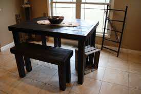 small high top kitchen table country style dining room with dark