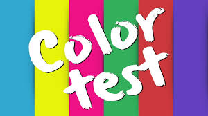 how well can you see colors color test youtube
