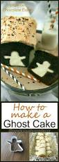 Easy Halloween Cake Decorating Ideas Best 20 Ghost Cake Ideas On Pinterest Cake Boos Spooky